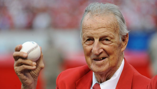 St. Louis Cardinals legend and Hall of Famer Stan Musial