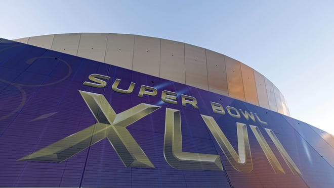Preparations for Super Bowl XLVII are underway at the Superdome in New Orleans.
