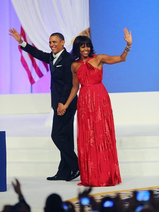 President Obama Michelle Obama dress