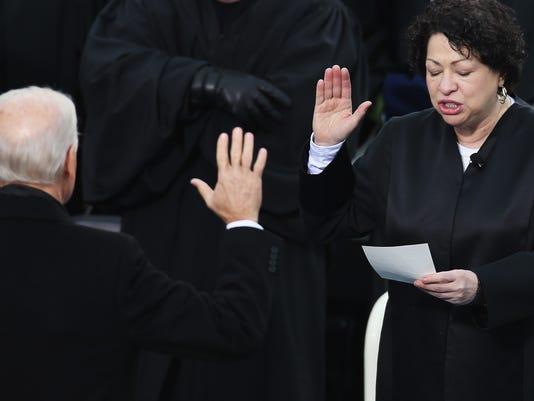 Sotomayor inauguration