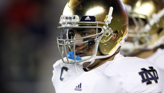 Manti Te'o asserts he was tricked into an online romance with Lennay Kekua