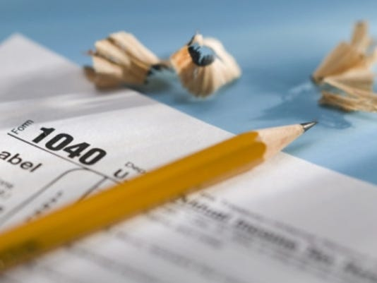 tax taxes form pencil thinkstock