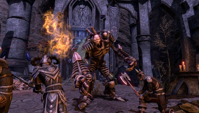 'The Elder Scrolls Online' moves Bethesda Softworks' popular role-playing franchise to the world of massively multiplayer online games. 'ESO' will be a more social experience, but expect the same combat players have grown to enjoy in games like 'Skyrim.'