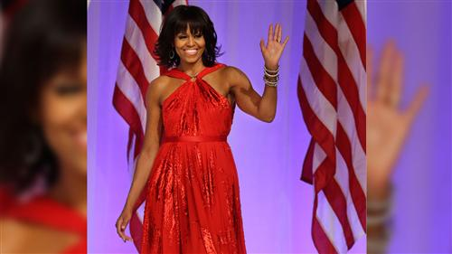 Michelle Obama's sizzling Inaugural style