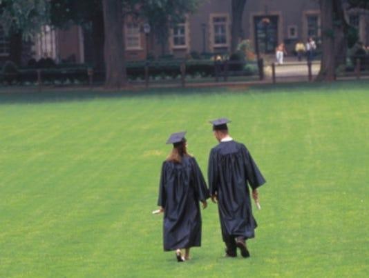 college campus caps thinkstock