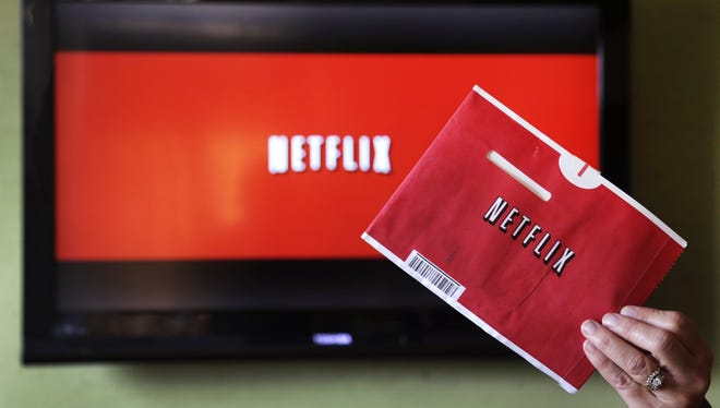 One of Netflix's iconic red envelopes.