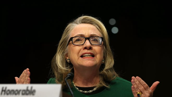 Secretary of State Hillary Clinton testifies before the Senate Foreign Relations Committee about the attack in Benghazi.