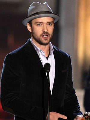 Justin Timberlake will perform next weekend in New Orleans.