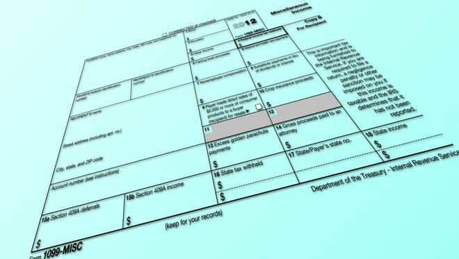 The 2012 1099-MISC is only a half sheet of paper, but if you miss Thursday's IRS deadline to file them for your contractors, you could face penalties.