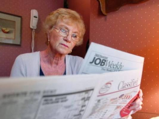 older americans working delayed retirement stock