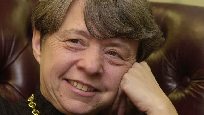 Mary Jo White in a 2002 file photo.