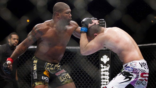 """After Saturday night, Quinton """"Rampage"""" Jackson's UFC career will be over."""