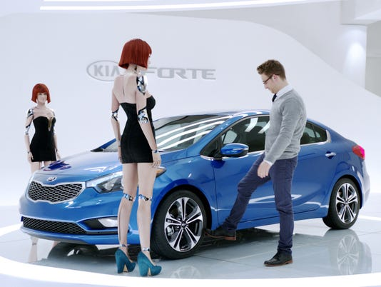 Super Bowl Car Ads Opt For Different Curves