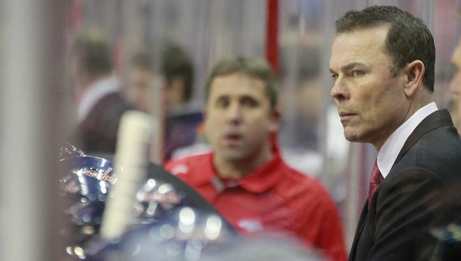 Washington Capitals coach Adam Oates is bringing his team to New Jersey.