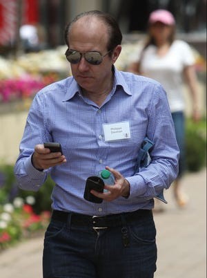 Philippe Dauman, CEO of Viacom, at the Sun Valley Village in July 2012, at the Allen & Co. annual conference in Sun Valley, Idaho.