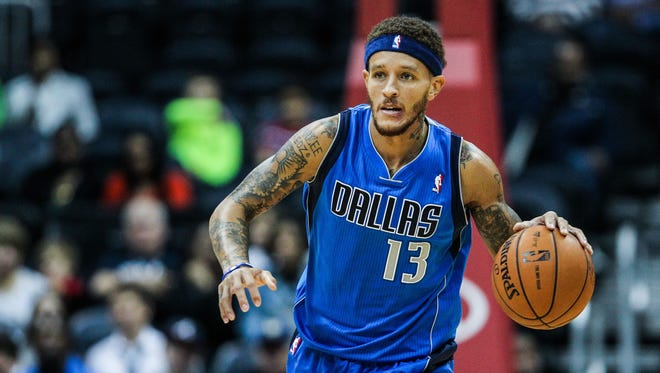 Delonte West, shown Oct. 20, was cut during the preseason by the Mavericks.
