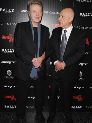 'Stand Up Guy' Christopher Walken (with co-star Alan Arkin last month) proved he's a lovable luddite on Thursday's 'Daily Show.'