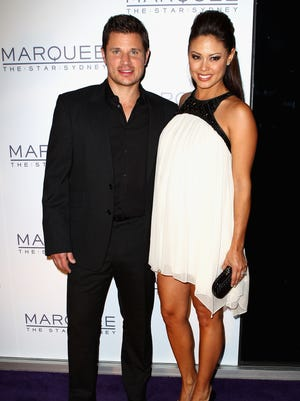 Nick and Vanessa Lachey welcomed son Camden John on Sept. 12.