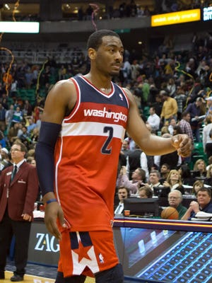 Wizards guard John Wall, shown Jan. 23, returned to the starting lineup Friday vs. the Timberwolves.
