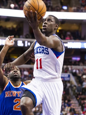 Jrue Holiday and the 76ers beat the Knicks for the first time this season.