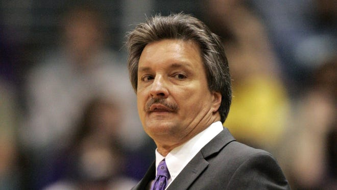 Stephen F. Austin coach Danny Kaspar is in his 12th season with the Lumberjacks.