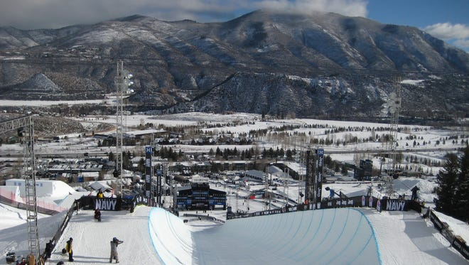 The X Games are being held in Aspen, Colo.