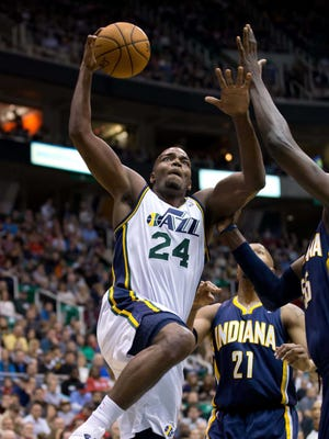 Paul Millsap had 21 points for the Jazz.