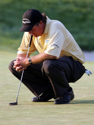 Phil Mickelson famously lost the 2006 U.S. Open at Winged Foot.