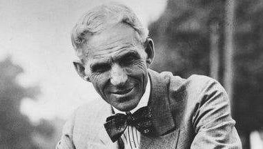 Henry Ford in 1926 file photo. (Gannett/File/Detroit Free Press)