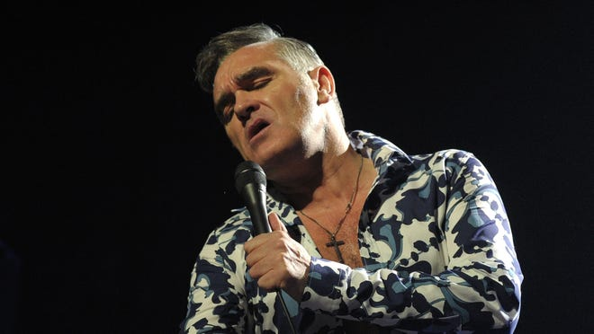 Former lead singer of The Smiths, Morrissey, has been diagnosed with a bleeding ulcer.