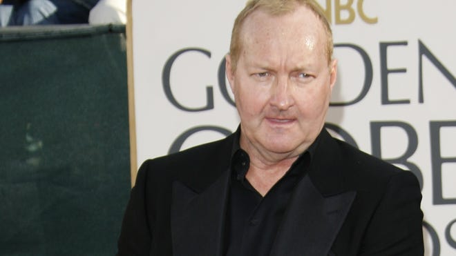 Randy Quaid arrives at the Beverly Hilton Hotel for the Golden Globe Awards in 2006.