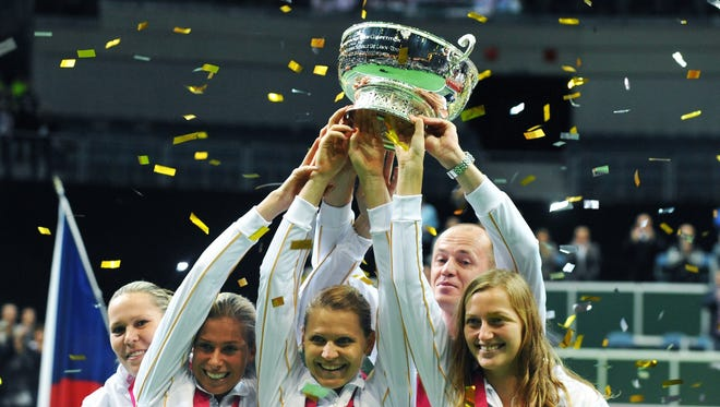 The Czech Republic will begin defense of its Fed Cup title next week.