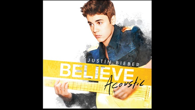"Cover art for the 2013 musical release ""Believe: Acoustic"" by Justin Bieber. NO CREDIT"
