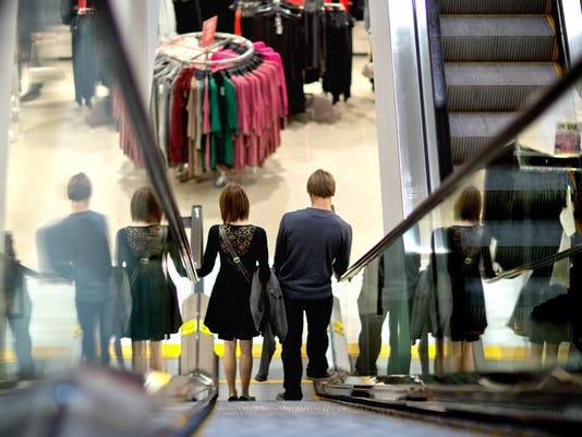 retail escalator dept store 2012