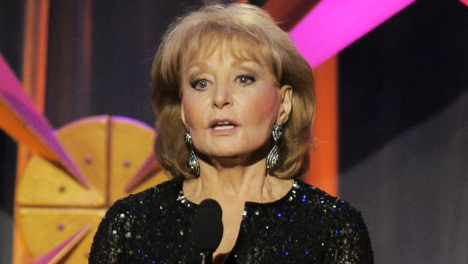 Barbara Walters is planning to retire in May 2014.