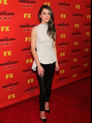 Keri Russell at Saturday's premiere of her new show, 'The Americans,' in New York. She plays a Russian spy who had her marriage arranged by the KGB.
