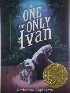 'The One and Only Ivan' by Katherine Applegate won the 2013 Newbery Medal.
