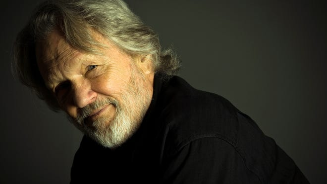 Kris Kristofferson is 76 now and on his 28th album, the aptly titled 'Feeling Mortal.'