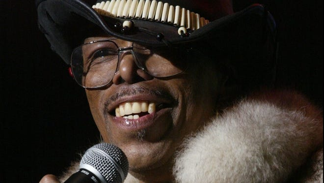 """Leroy """"Sugarfoot"""" Bonner, shown in 2002, was lead singer for the Ohio Players."""