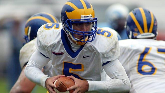 Joe Flacco was Delaware's quarterback in 2006 and 2007.
