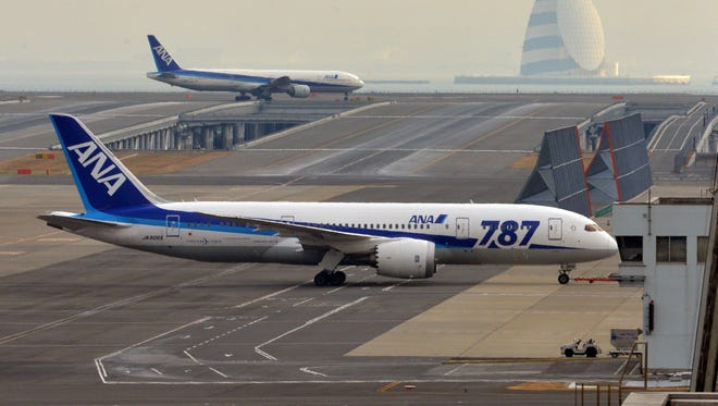 All 50 of the 787 Dreamliners that Boeing has delivered to airlines were grounded after the emergency landing by an ANA flight in western Japan on Jan. 16.