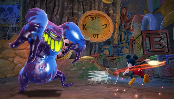 A scene from 'Epic Mickey 2: The Power of Two.'