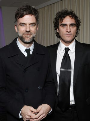 May Paul Thomas Anderson and Joaquin Phoenix be teaming up again for Inherent Vice? Here they are together at the LA Film Critics Association Awards.