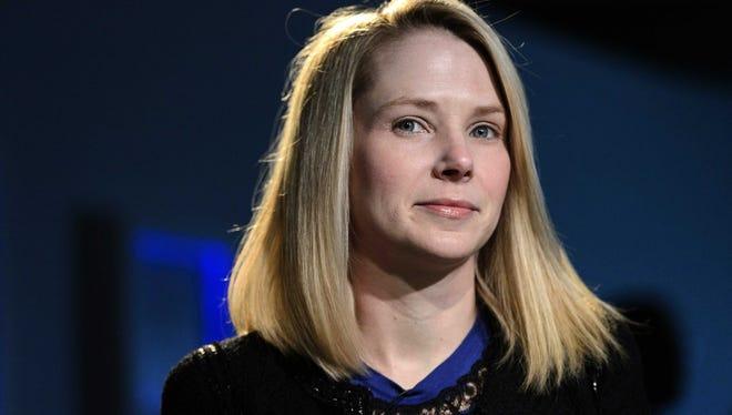 Yahoo CEO Marissa Mayer at the recent World Economic Forum in Davos, Switzerland.