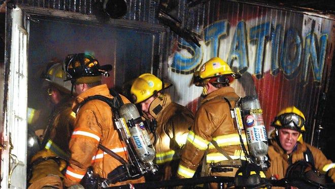 The Station nightclub in West Warwick, R.I., on Feb. 21, 2003.
