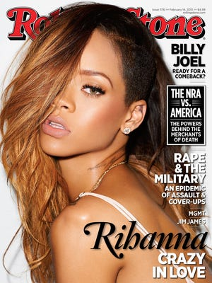 Rihanna graces the cover of the Feb. 14, 2013 issue of 'Rolling Stone.'