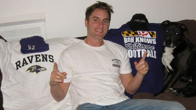 Alex Hill is a Ravens fan living in San Francisco and talks about his experiences leading up to Super Bowl XLVII.