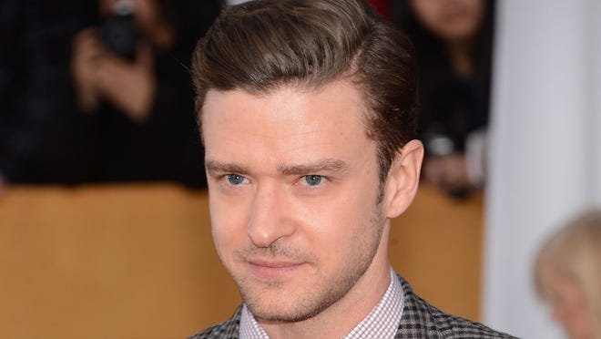 Justin Timberlake attends the 19th Annual Screen Actors Guild Awards in Los Angeles.