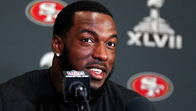 San Francisco 49ers linebacker Patrick Willis says at Super Bowl XLVII media day that his grandmother always told him to be religious.