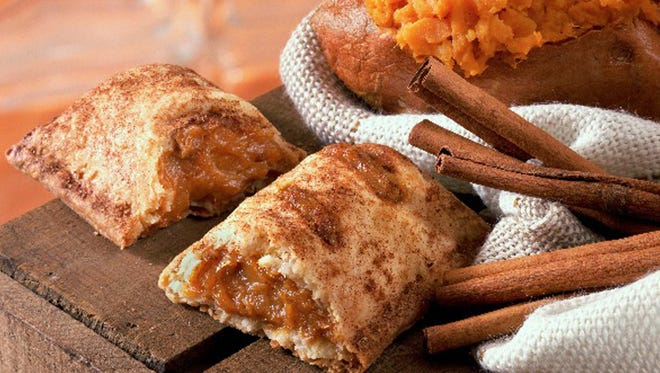 Only available in Asian markets, the sweet potato pie fills up a flaky crust with mashed sweet potato. Launched in 2010 in Hong Kong, we're surprised it also hasn't turned up in Southern markets in the U.S.